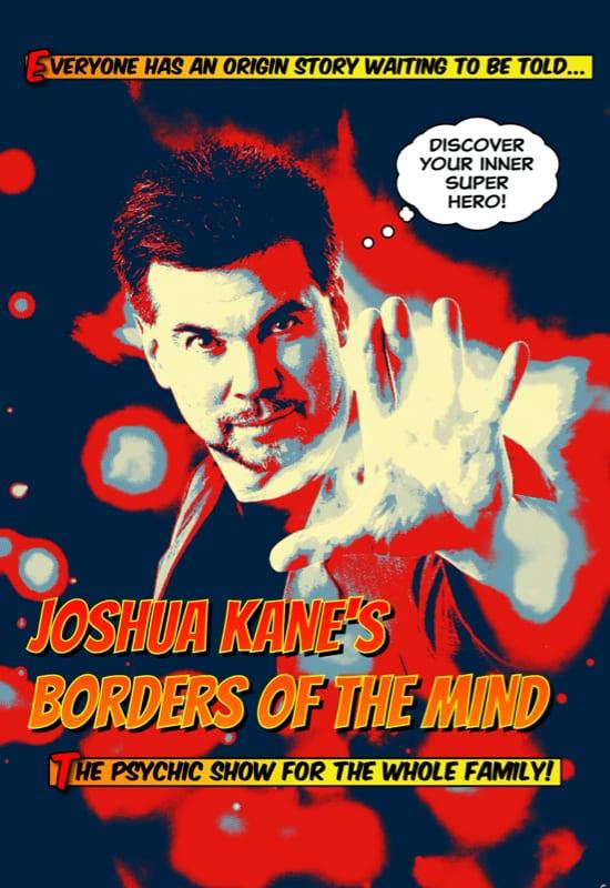 Mentalist Joshua Kane - Borders of the Mind - The Ridgefield Playhouse - 웹